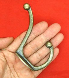 Wholesale New Vintage Bronze Wall Hook Coat Bag Hat Hanger Robe Hooks Wall Hanging Hooks Home Kitchen Wall Door Holder