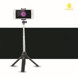 $enCountryForm.capitalKeyWord Australia - Non-slip Tripod Selfie Stick Bluetooth Wireless Selfie Extendable Flodable Selfie Built in Bluetooth Shutter with Package