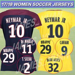 fff9e923bb1 online shopping MBAPPE Female SOCCER JERSEY NEYMAR JR shirt AURIER T SILVA  CAVANI DI MARIA PASTORE