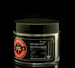 Cigarettes Usa Wholesale NZ - USA Original Vapers Choice Cotton 100% Pure VCC Cotton For DIY RDA RBA Wick n Vape E Cigarette PK COTTON BACON 2.0