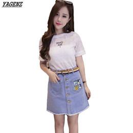 Discount Elegant Denim Skirts | 2017 Elegant Denim Skirts on Sale ...