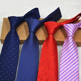 silk polyester NZ - New stock tie, business suit, men's tie, polyester silk, arrow head, 8CM business tie wholesale
