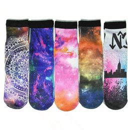 top basketball socks NZ - Wholesale Top Quality Thickness Long Men's Digital Printed 3D Socks Bulk Pattern Unisex Crazy Novelty Winter Crazy Basketball Socks