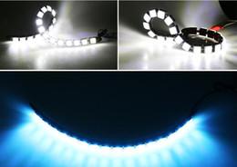 $enCountryForm.capitalKeyWord Canada - Car accessor Car COB DRL Driving Fog Light 6 LED Flexible Daytime Running Light For Honda Toyota Hyundai VW Kia forMazda Buick Nissan etc
