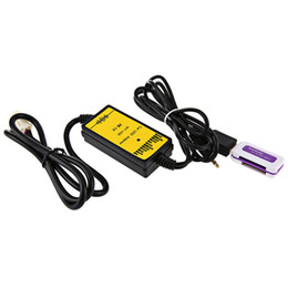 Adaptador de CD Carro Universal MP3 Interface de Áudio AUX Adaptador USB SD 12 P Conectar CD Changer para Toyota Lexus Scion Venda Quente venda por atacado