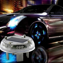 4 Modes 12 LED Car Auto Solar Energy Flash Wheel Tire Rim Light L& Tire Light L& Decoration & Discount Led Lights Car Rims | 2018 Led Lights Car Rims on Sale at ... azcodes.com