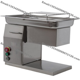 Meat processing Machines online shopping - 500KG H mm mm Customized Blade v v Electric Commercial Fresh Meat Chicken Breast Cutter Slicer Processing Machine