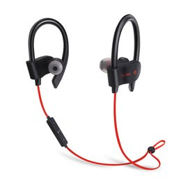 Wholesale DHL shipping S Wireless Bluetooth Earphones Waterproof IPX5 Headphone Sport Running Headset Stereo Bass Earbuds Handsfree With Mic