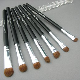 Brush Animals Canada - Retail JAF Classic 7pcs Brushes for Makeup 100% Natural Animal Horse Pony Hair Eye Makeup Brush Set