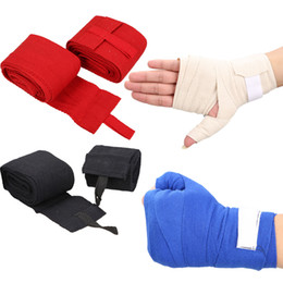 Hand wrap gloves online shopping - pair m Boxing Handwraps Bandage Punching Hand Wrap Boxing Training Gloves Training Wrist Protect Fist Punch Outdoor