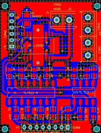 driver module Canada - Motor Driver Module Pcb L293D TLP521 IN4007 DC Motor drive Module L293 Schematic and PCB Electronic Diy Kit double-sided pcb