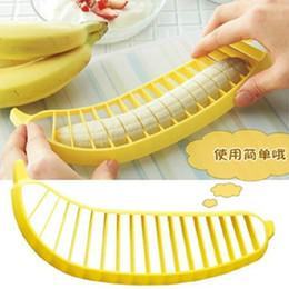 Fruit salad fruit splitter creative banana cutter banana cutter banana slicer on Sale