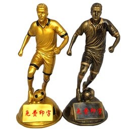 hockey trophies Canada - High quality!Football World cup the best Player trophy Best shooter center The best forward Fancy Football Trophy,Free shipping