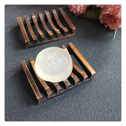 Sinks Product NZ - Bathroom Product Sink Deck Soap Holder Bath Accessories Natural Wood Soap Dish Soap Holder Craft Natural Wooden Holder For Sponges Dishes