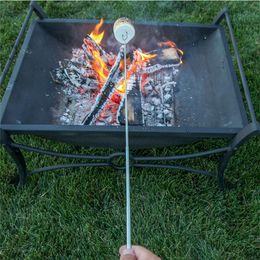 $enCountryForm.capitalKeyWord NZ - Wholesale- 5pcs Camping Campfire Marshmallow Hot Dog Telescoping Roasting Fork Sticks Skewers BBQ forks (random color)