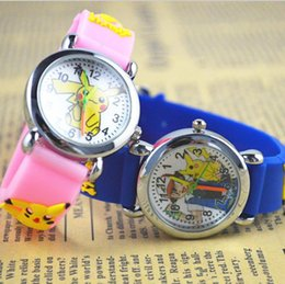 ce392ba22ce Poke Mon Go Assista 3D Cartoon Anime Digimon Kids Relógios de pulso Soft  Silicone Quartz Relógios
