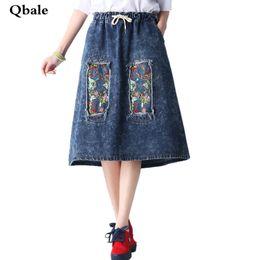 Discount Ladies Long Denim Skirt | 2017 Ladies Long Denim Skirt on ...