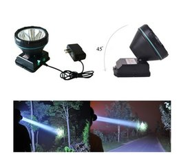 wall flashlight NZ - Headlamp Rechargeable LED Flashlight for Mining ,Camping, Hiking, Fishing