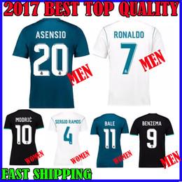 cab2d6488 ... white home long sleeve shirt 14 15 spain futbol club soccer jersey  ca792 ab54e; canada 17 18 real madrid jerseys soccer asensio ronaldo 2017  2018 bale ...