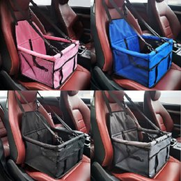 Waterproof pet pad online shopping - Pet Supplies Car Carriers Dog Car Seat Covers front seat pad safety box breathable waterproof car seat covers multi colors options DHL