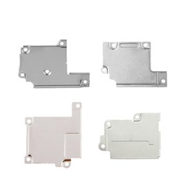 flex display NZ - Lcd Display Flex Cable Metal Wifi Antenna Cover Plate Holder Bracket For iPhone SE 6 6 Plus 6S 6S Plus 7 7Plus