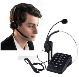 Diaplad Corded Telephone with Noise Cancelling RJ9 Headset,PC Recording Cable for Small Offices and Home-based Agents on Sale