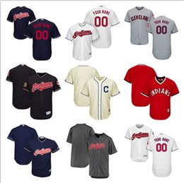 51653bd13 ... Personalized Custom Cleveland Indians Jerseys Customized any name