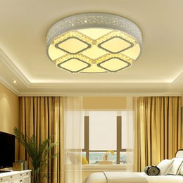 Modern Led Ceiling Light Down Iron Frame Acrylic Round Square Lamp Living Room Bedroom 36W 48W 92W 122W