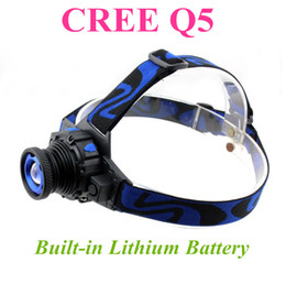 Xml q5 online shopping - CREE XML Q5 LED Headlight Headlamp Head Lamp Light Focus For Fishing Bicycle Camping Hiking DHL