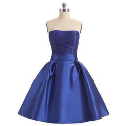 $enCountryForm.capitalKeyWord UK - New Fashion Arrival Strapless Lace Wedding Short Bridemaid Dresses Custom Made Short Designer Style Bridesmaids Dress (SL-B131)