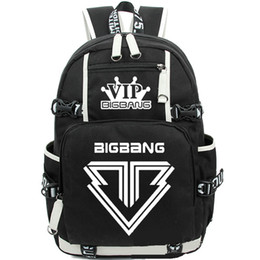 d4331ad05b21 Bigbang backpack Dance band daypack Hot sale schoolbag Music rucksack Sport school  bag Outdoor day pack