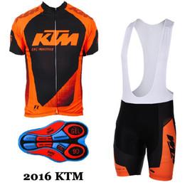 Venta al por mayor de 2017 ktm jerseys de Ciclismo Ropa de Hombre Traje Ropa de Bicicleta Jersey Bib Shorts set mtb ropa de bicicleta deporte jersey ropa de ciclismo