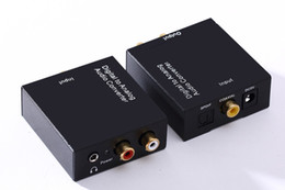 Dts auDio online shopping - Coaxial Spdif Toslink Optical Digital to Analog L R RCA Audio Converter Adapter Support Channel Stereo Dolby AC3 DTS