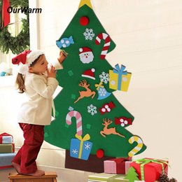 $enCountryForm.capitalKeyWord Canada - Ourwarm New Year Gifts Kids Diy Felt Christmas Tree Decorations Christmas Gifts For 2018 New Years Door Wall Hanging Ornaments