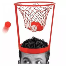 $enCountryForm.capitalKeyWord Canada - Basket Case Headband Hoop Game Novelty Sport Family Entertainment Toy Relieve The Pressure Of The Toy
