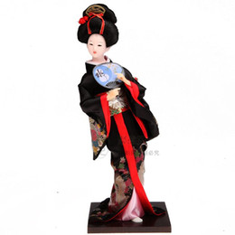 $enCountryForm.capitalKeyWord Australia - Japanese Geisha kimono doll doll ladies Decor Japanese people doll ornaments crafts