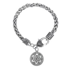 Link Two Canada - Lemegeton Hotselling Two Designs Fashionable Link Chain lucky Bijoux Talisman Solomon Pagan Wiccan Jewelry Amulet Pendant Bracelet for Women