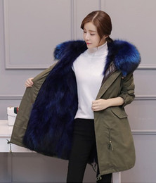 Fox Fur Pelts Canada - 5 colors, fashion, sexy fox fur coat, fur coat, overcoat, winter clothing manufacturers, wholesale and retail outlets.