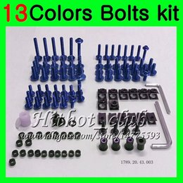 $enCountryForm.capitalKeyWord Australia - Fairing bolts full screw kit For HONDA CBR893RR 94 95 96 97 CBR900RR CBR 893 RR 1994 1995 1996 1997 Body Nuts screws nut bolt kit 13Colors