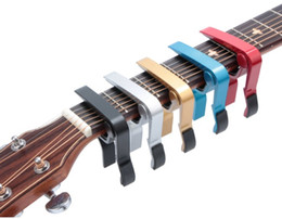 ClassiCal aCoustiC guitars online shopping - New Arrived Acoustic Guitar Classical Electric Guitarra Capo traste Musical Instrument Guitar Capo Accessories LLFA