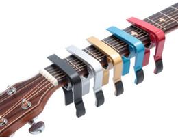 Опт Новый Прибывший Акустическая гитара Классическая электрическая Guitarra Capo traste Музыкальный инструмент гитара Капо аксессуары LLFA
