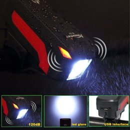 $enCountryForm.capitalKeyWord NZ - AloneFire BL01 Bike Light Head LED Flashlight With Bell Luces Cycle Lamp Outdoor MTB Road Cycling Headlight Speaker Bicycle Cycling Led Ligh