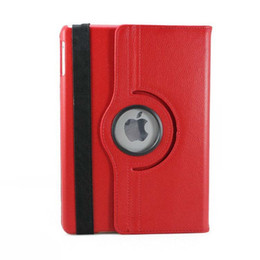 $enCountryForm.capitalKeyWord UK - Stand pu leather Case 360 Rotating Smart Cover Lichee Protector Cover For Ipad 2 3 4 9.7 inch shell