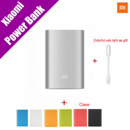 $enCountryForm.capitalKeyWord Canada - Original Xiaomi Mi Power Bank 2 10000mAh External Battery Portable Mobile Backup Bank MI Charger for Android iPhones 7 plus,iPad