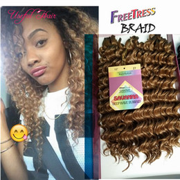synthetic weaves braids NZ - hot sell jerry curl Christmas gifts Wedding guest synthetic braiding hair 3pcs lot crochet braids hair prelooped curly weave Hair Extensions