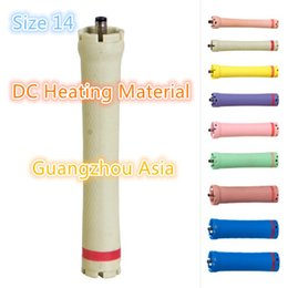 Heated Roller Hair Australia - 2017 hot sale salon use hair perm roller, rod, curler, DC material, water-proof, 36V, size 14