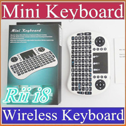 $enCountryForm.capitalKeyWord Canada - 50X 2016 Wireless Keyboard rii i8 keyboards Fly Air Mouse Multi-Media Remote Control Touchpad Handheld for TV BOX Android Mini PC B-FS