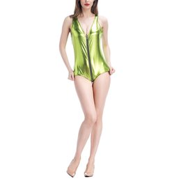 Ropa Para Funcionamiento De La Etapa Baratos-Víspera de Todos los Santos Party Sexy Ladies Steel Vest Vestido DS Performance Dance Stage Clothes Jumpsuit Novelty Nightclub