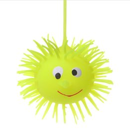 $enCountryForm.capitalKeyWord UK - 20 grams of luminous fluffy ball, luminous hedgehog, elastic flash, fluffy ball, vent ball, children's toys wholesale