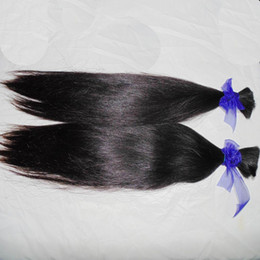 $enCountryForm.capitalKeyWord NZ - Wholesale BUlk Straight Brazilian Virgin Human Hair braiding 10pcs Thick Bundles Natural Color Uhprocessed